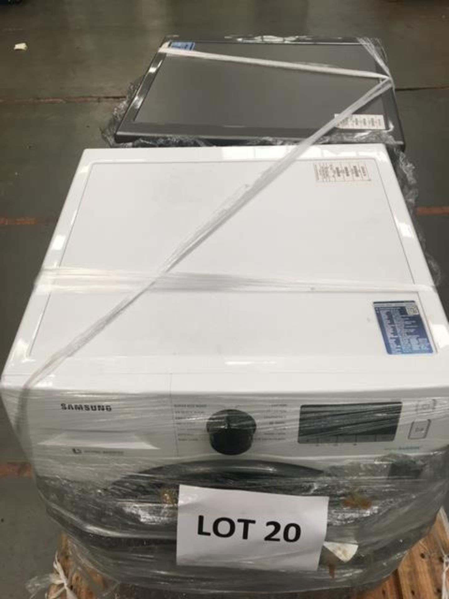 Pallet of 2 Samsung Premium Washing machines. Latest selling price £738 - Image 6 of 8