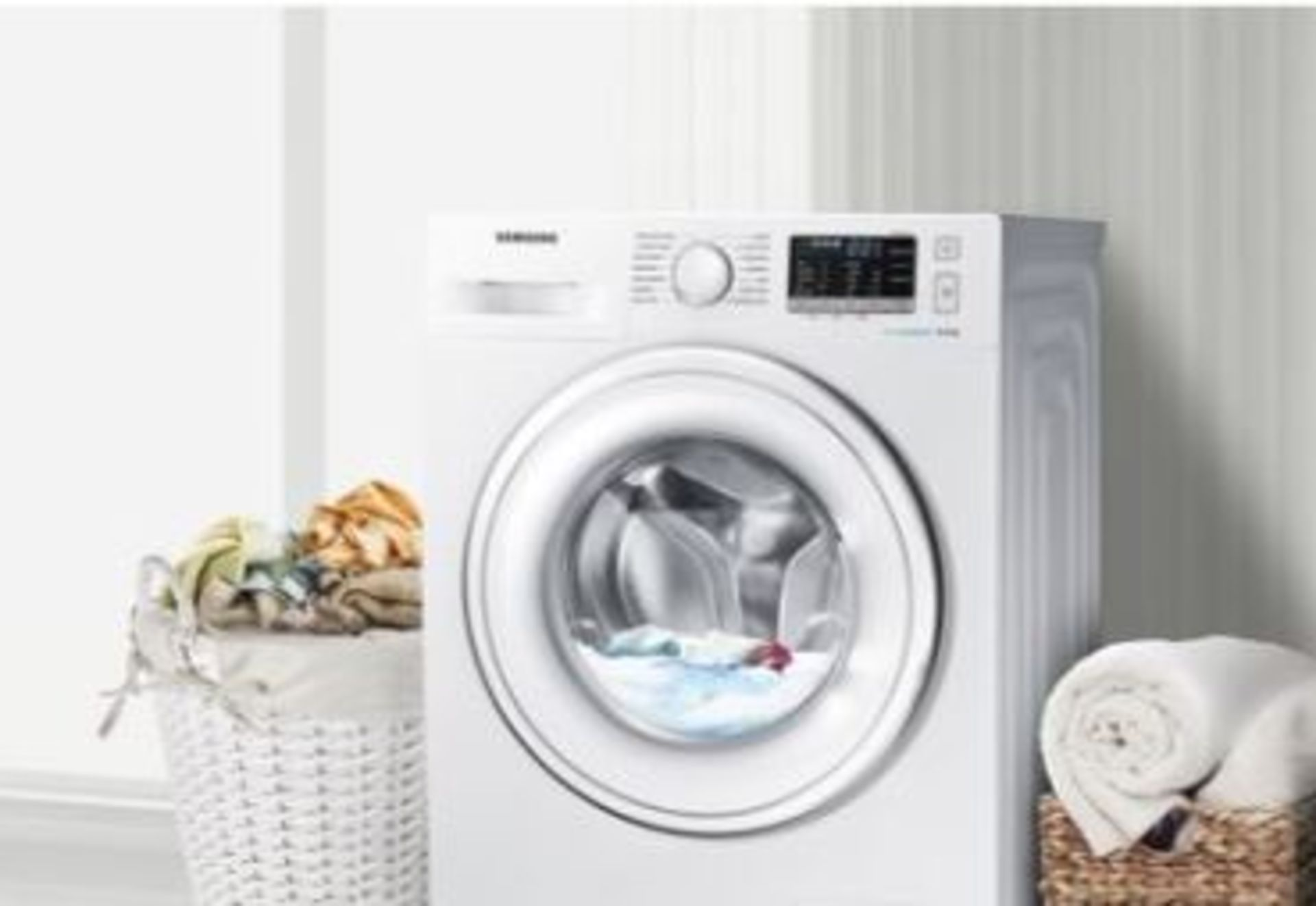 Lot 3 - Pallet of 1 Samsung Premium Washing machine. Latest selling price £339*