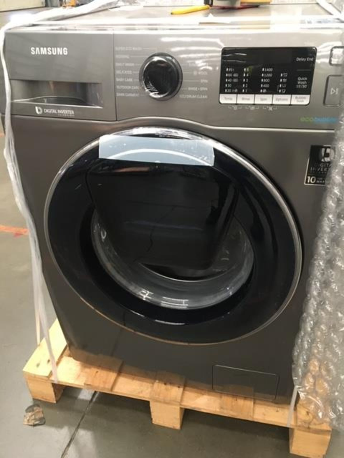Pallet of 2 Samsung Premium Washing machines. Total Latest selling price £778* - Image 6 of 7