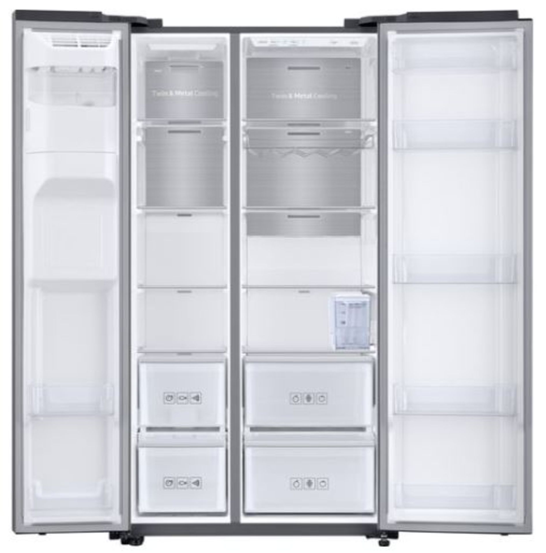 Pallet of 1 Samsung Water & Ice Fridge freezer. Latest selling price £1,799.99 - Image 3 of 10