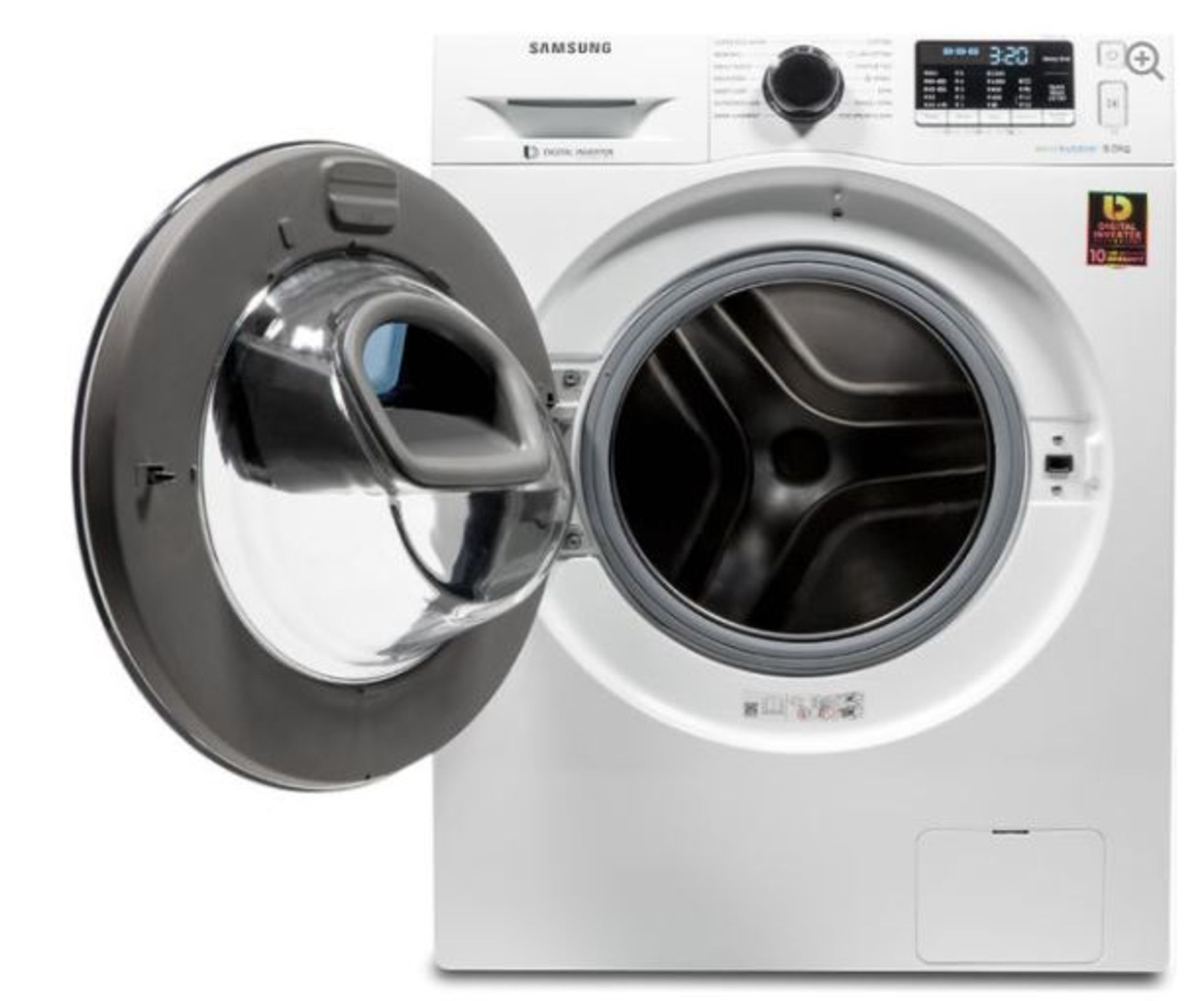 Pallet of 2 Samsung Premium Washing machines. Total Latest selling price £778* - Image 2 of 7