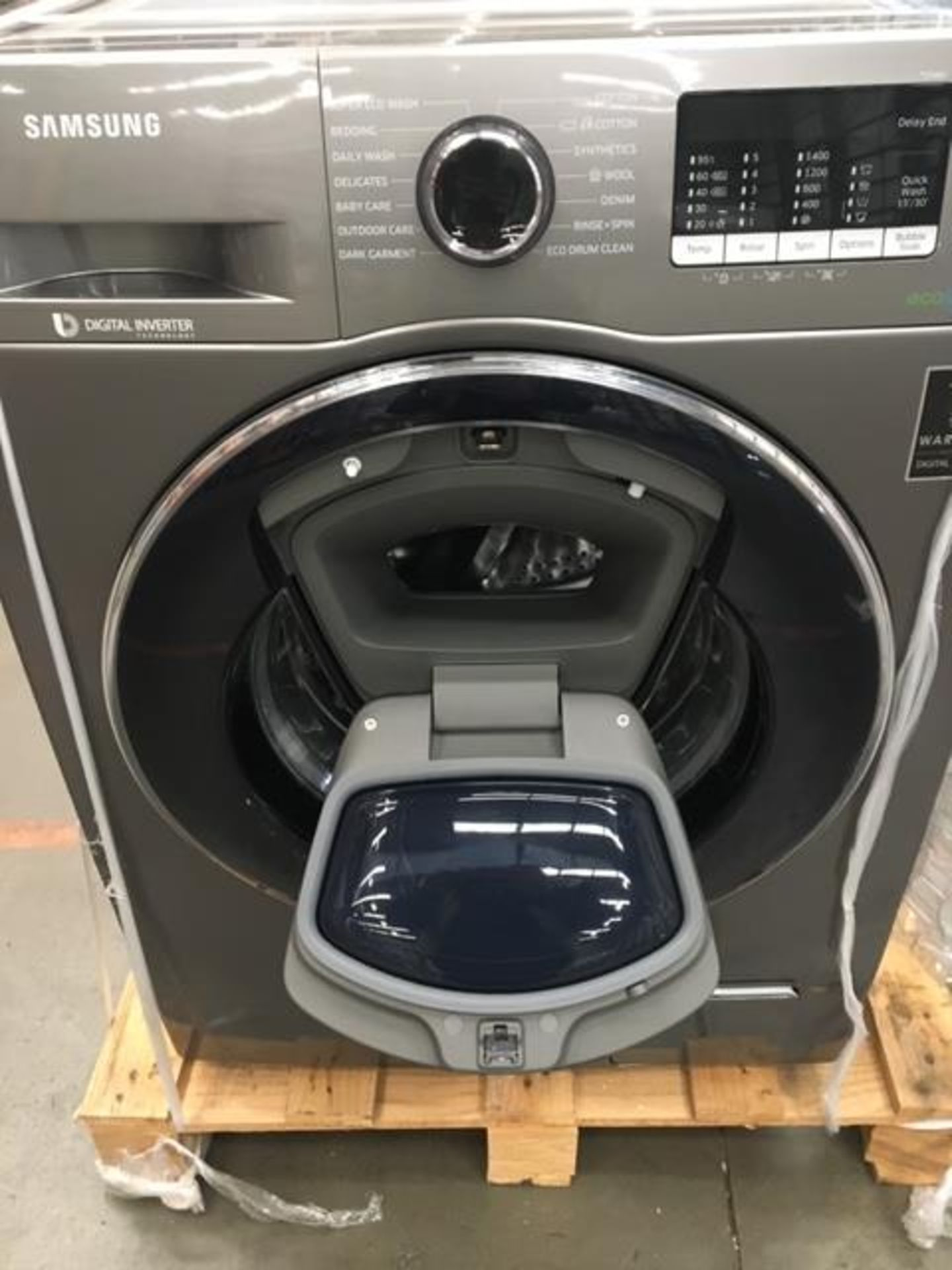 Pallet of 2 Samsung Premium Washing machines. Total Latest selling price £778* - Image 5 of 7