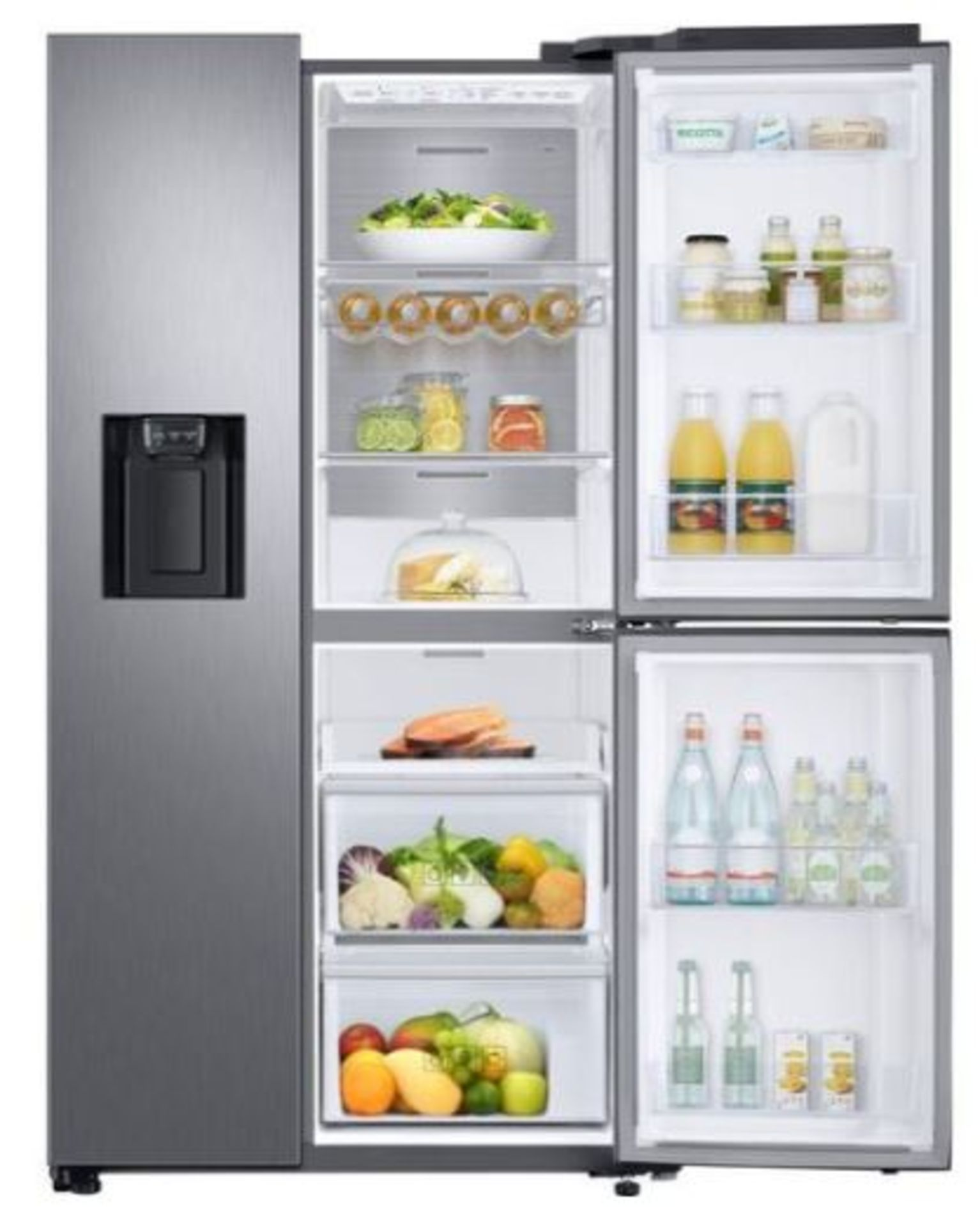 Pallet of 1 Samsung Water & Ice Fridge freezer. Latest selling price £1,769.99* - Image 3 of 10