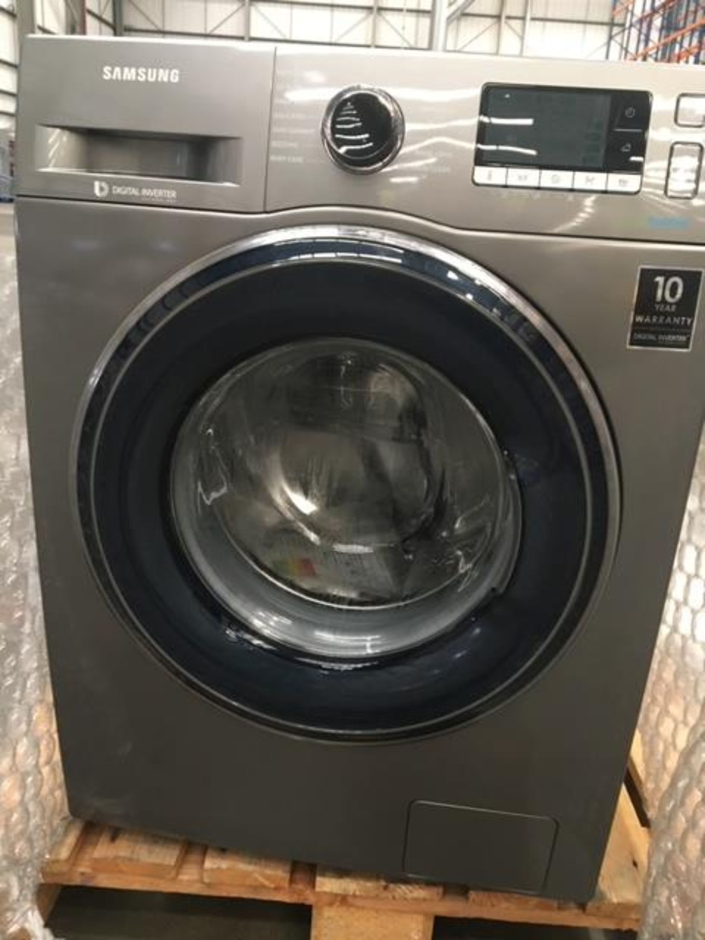 Pallet of 2 Samsung Premium Washing machines. Latest selling price £738 - Image 8 of 8