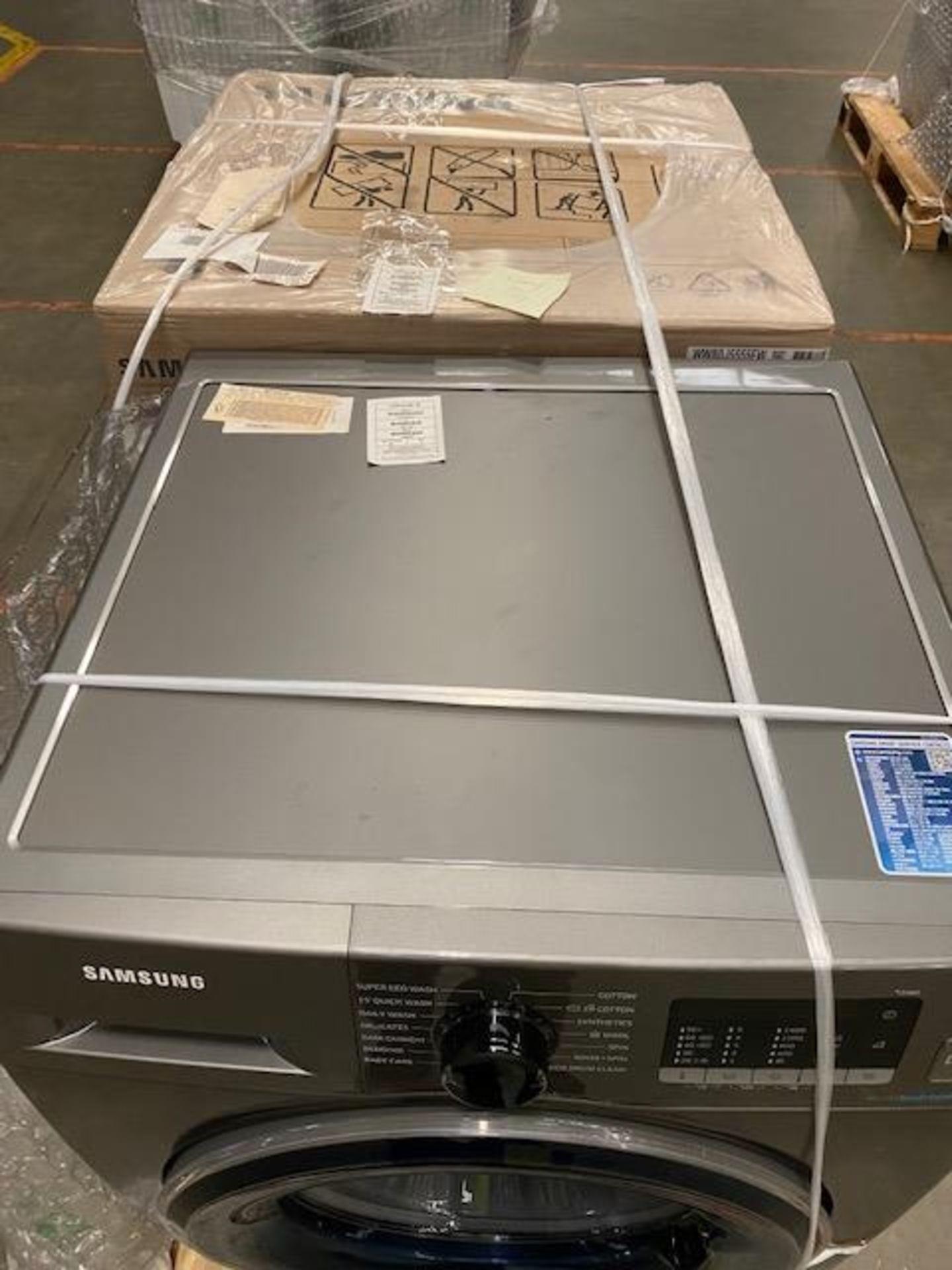 Pallet of 2 Samsung Premium Washing machines. Total Latest selling price £678* - Image 5 of 9