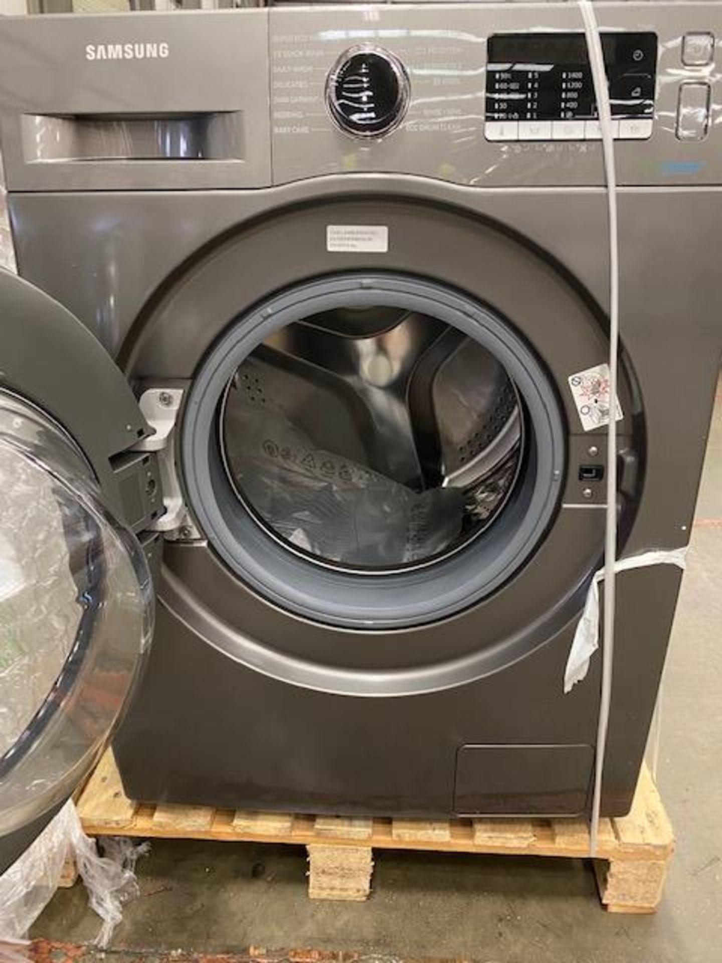 Pallet of 2 Samsung Premium Washing machines. Total Latest selling price £678* - Image 8 of 9
