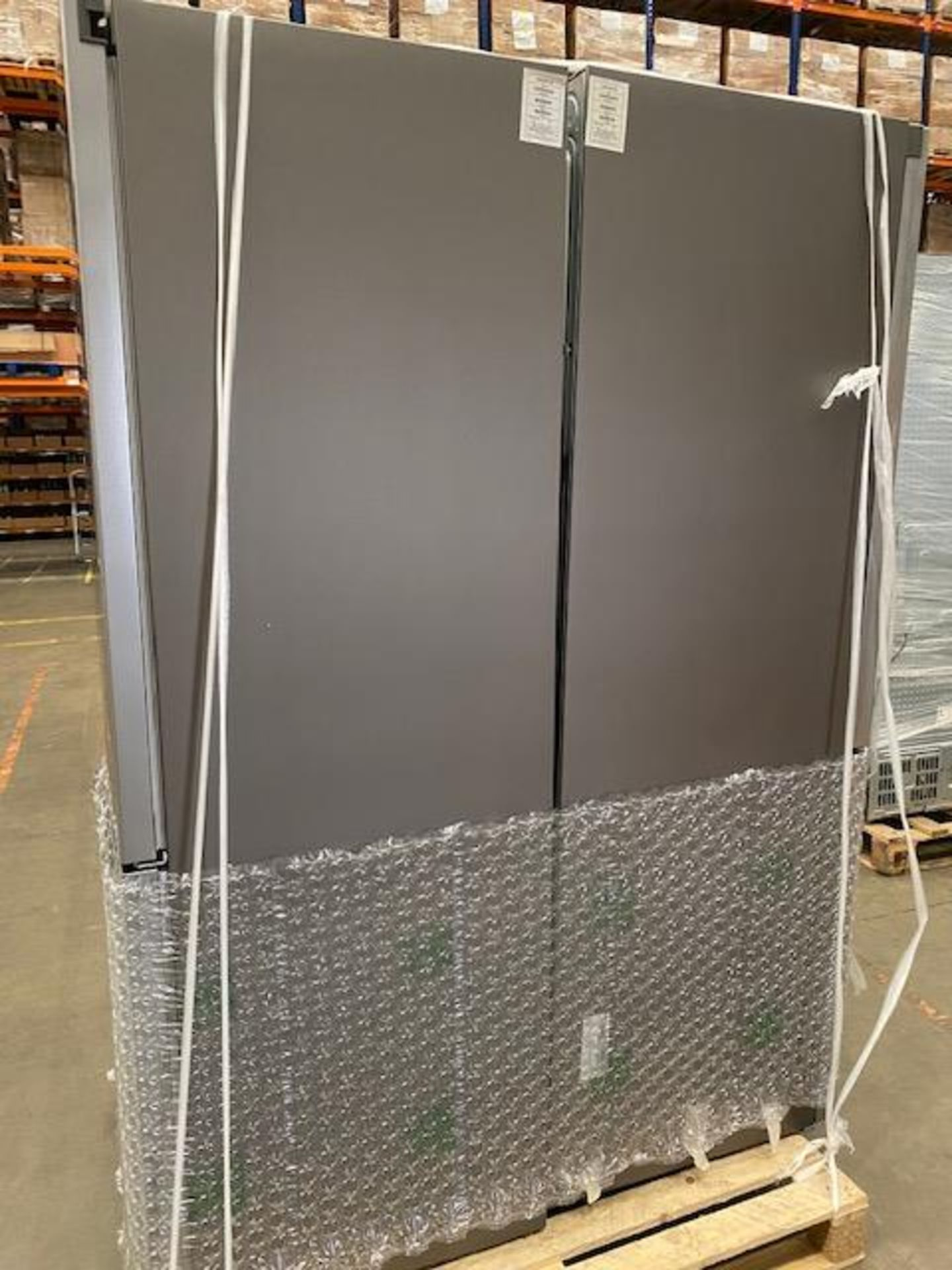 Lot 5 - Pallet of 2 Samsung 60CM Fridge Freezers. Total Latest selling price £898*