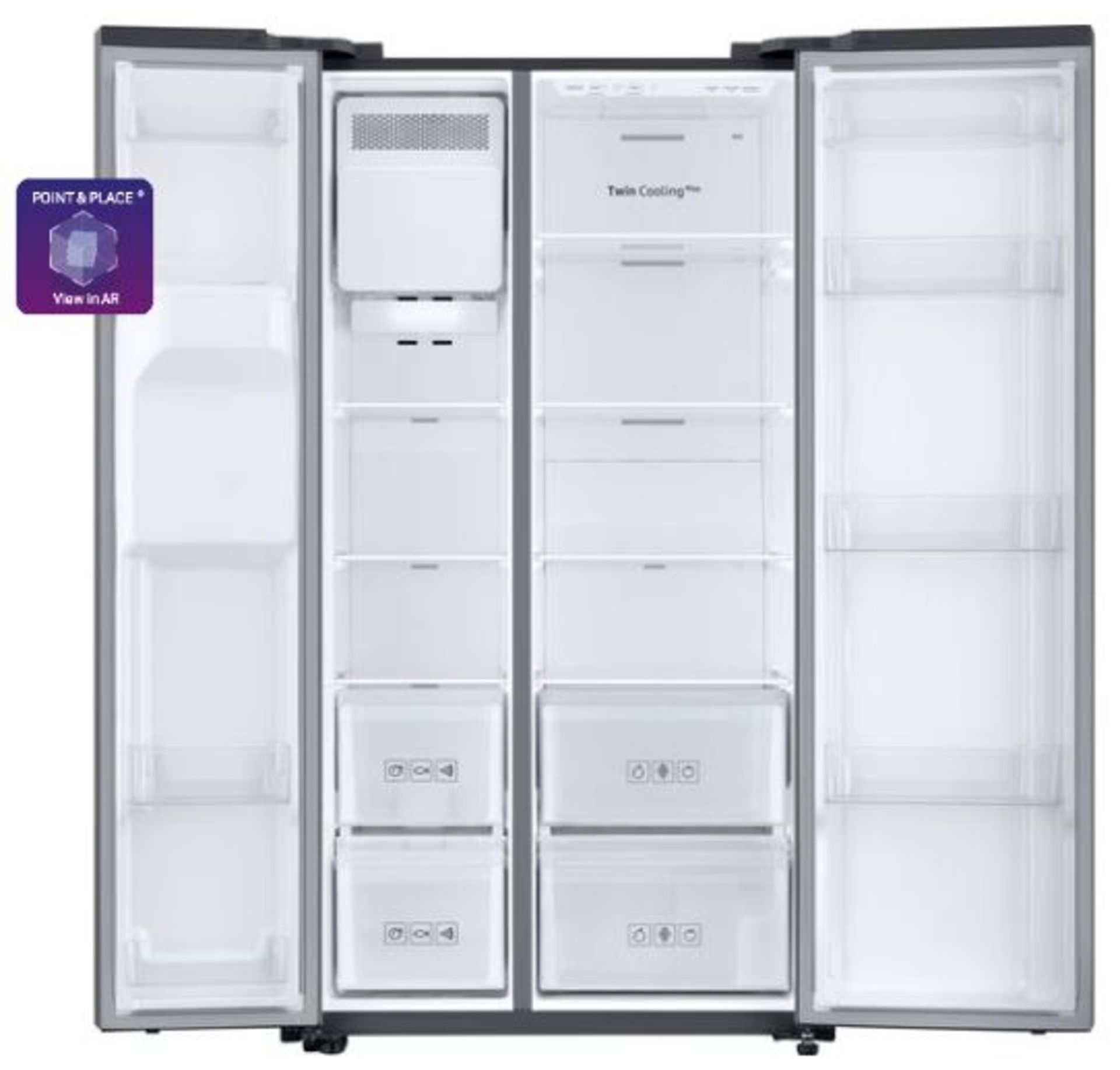 Pallet of 1 Samsung Water & Ice Fridge freezer. Latest selling price £1,299.99* - Image 2 of 7