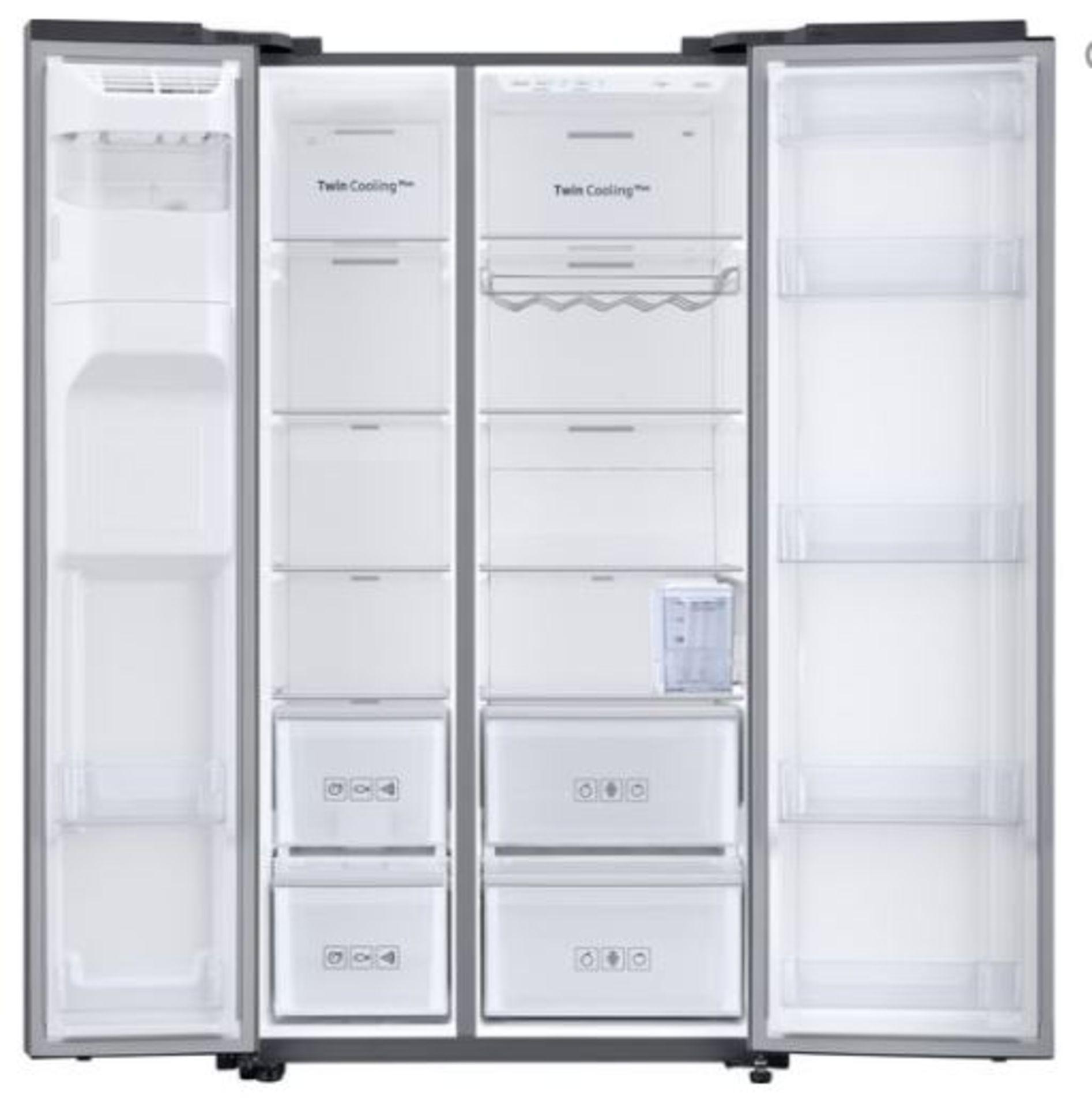 Pallet of 1 Samsung Water & Ice Fridge freezer. Latest selling price £1,329.99* - Image 3 of 9