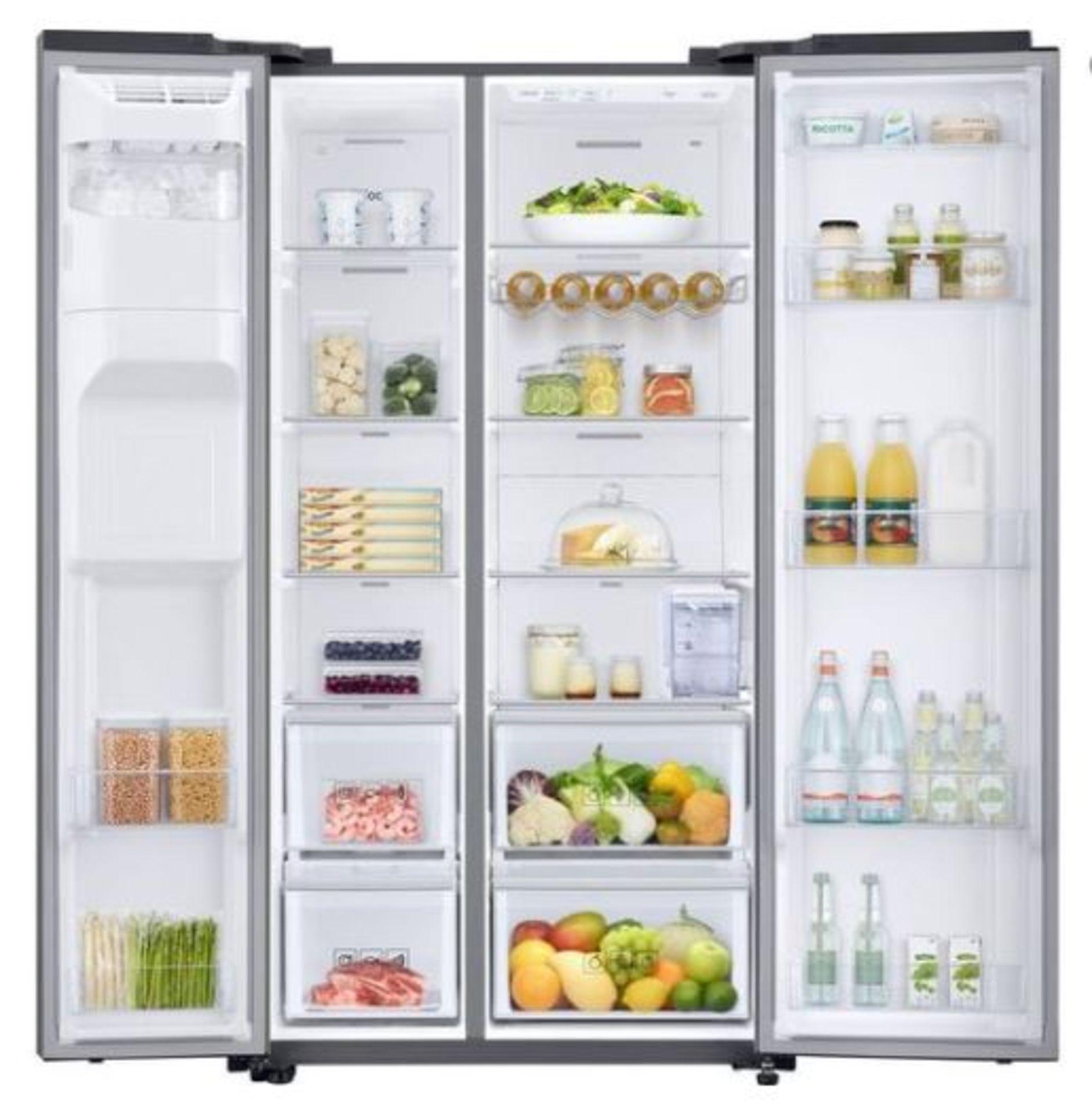 Pallet of 1 Samsung Water & Ice Fridge freezer. Latest selling price £1,329.99* - Image 2 of 9