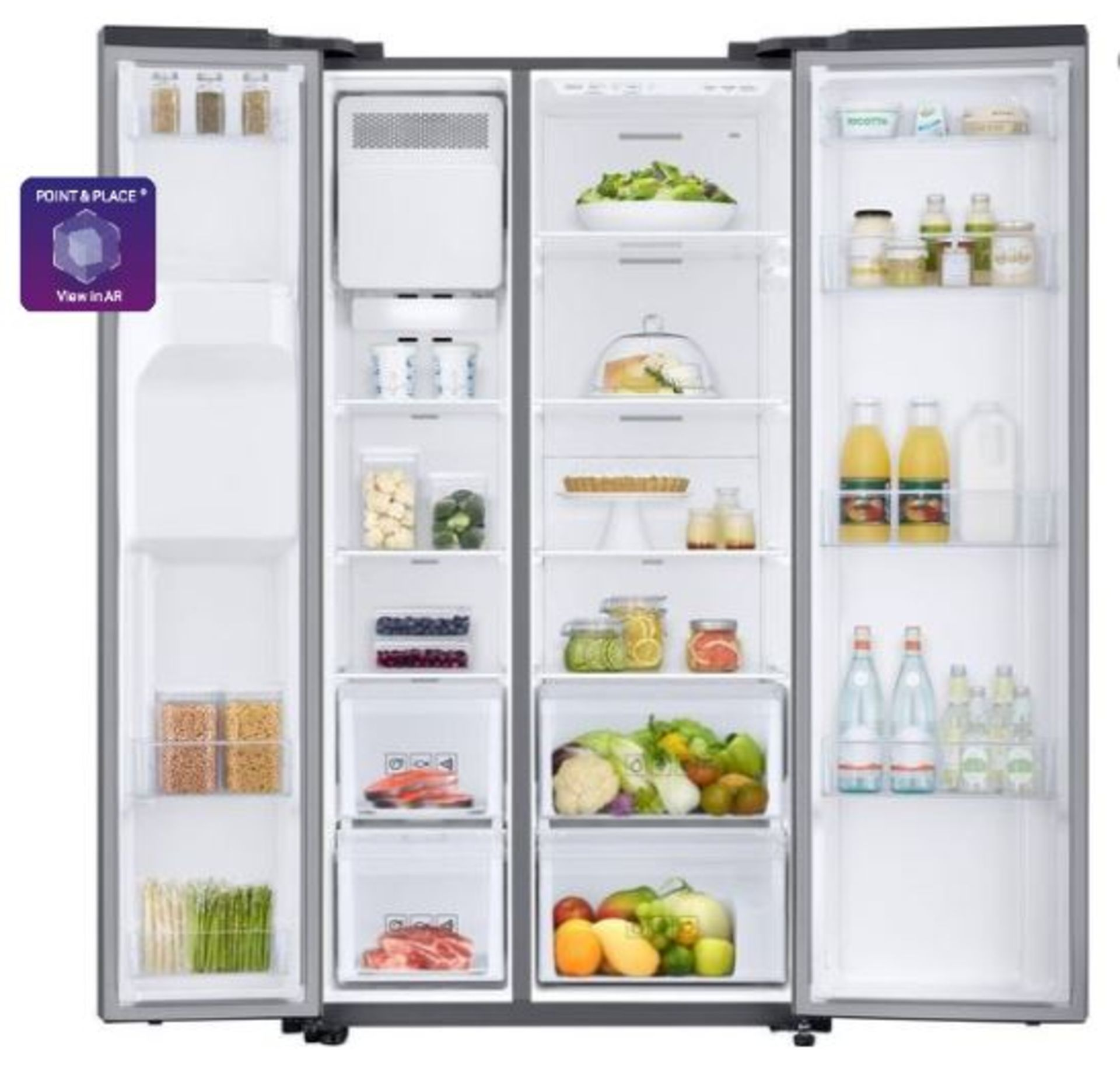 Pallet of 1 Samsung Water & Ice Fridge freezer. Latest selling price £1,299.99* - Image 3 of 7