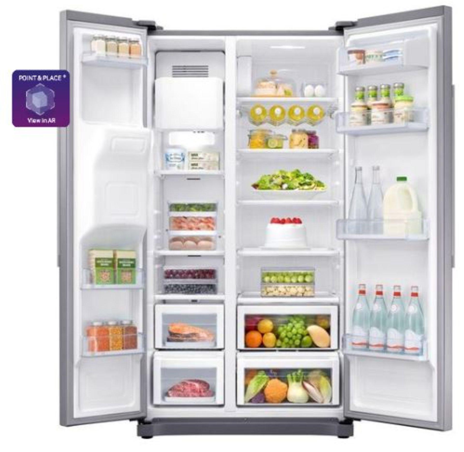 Pallet of 1 Samsung Water & Ice Fridge freezer. Latest selling price £929.99* - Image 2 of 9