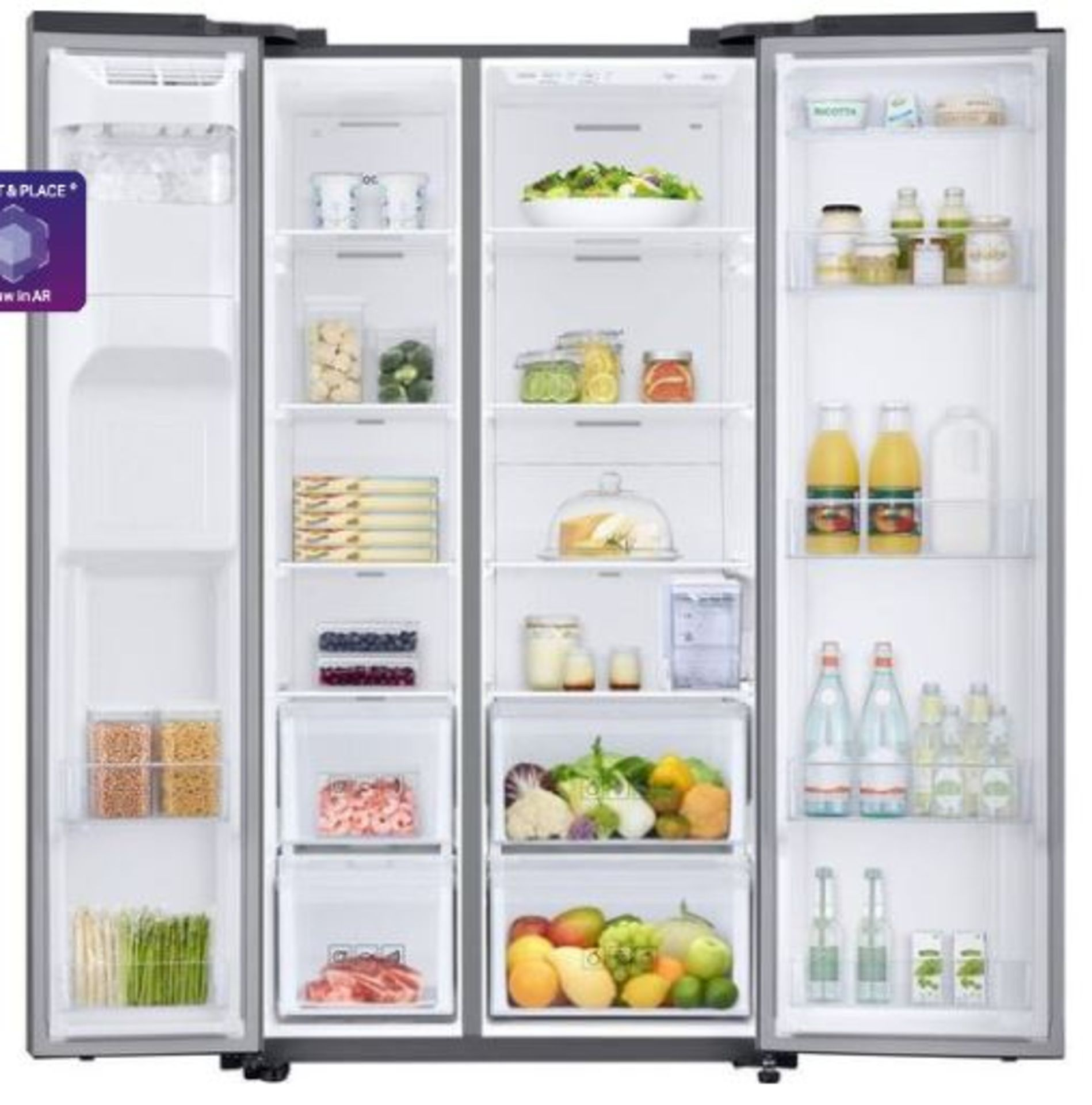 Lot 2 - Pallet of 1 Samsung Water & Ice Fridge freezer. Latest selling price £1,149.99*