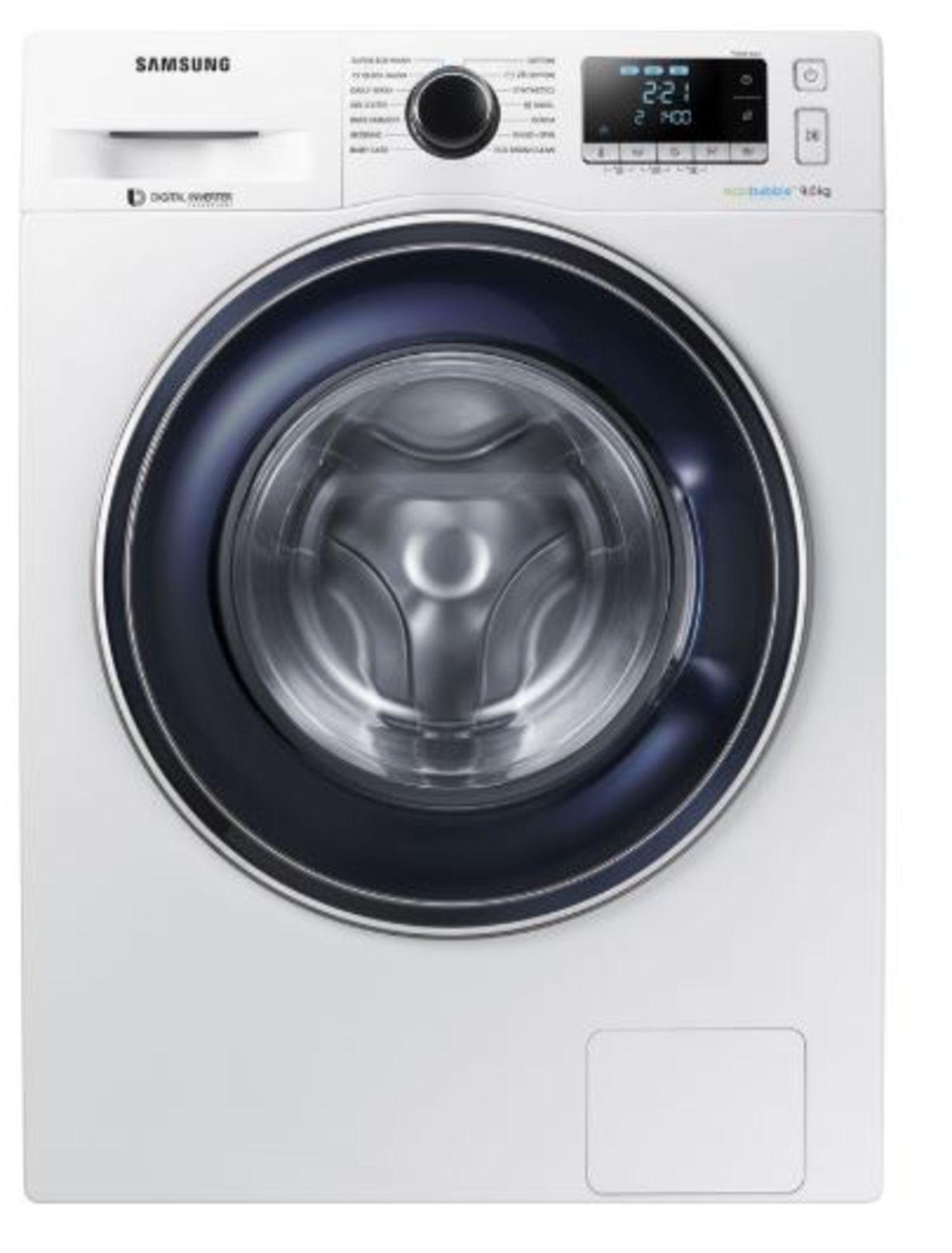 Pallet of 2 Samsung Premium Washing machines. Latest selling price £738 - Image 3 of 8