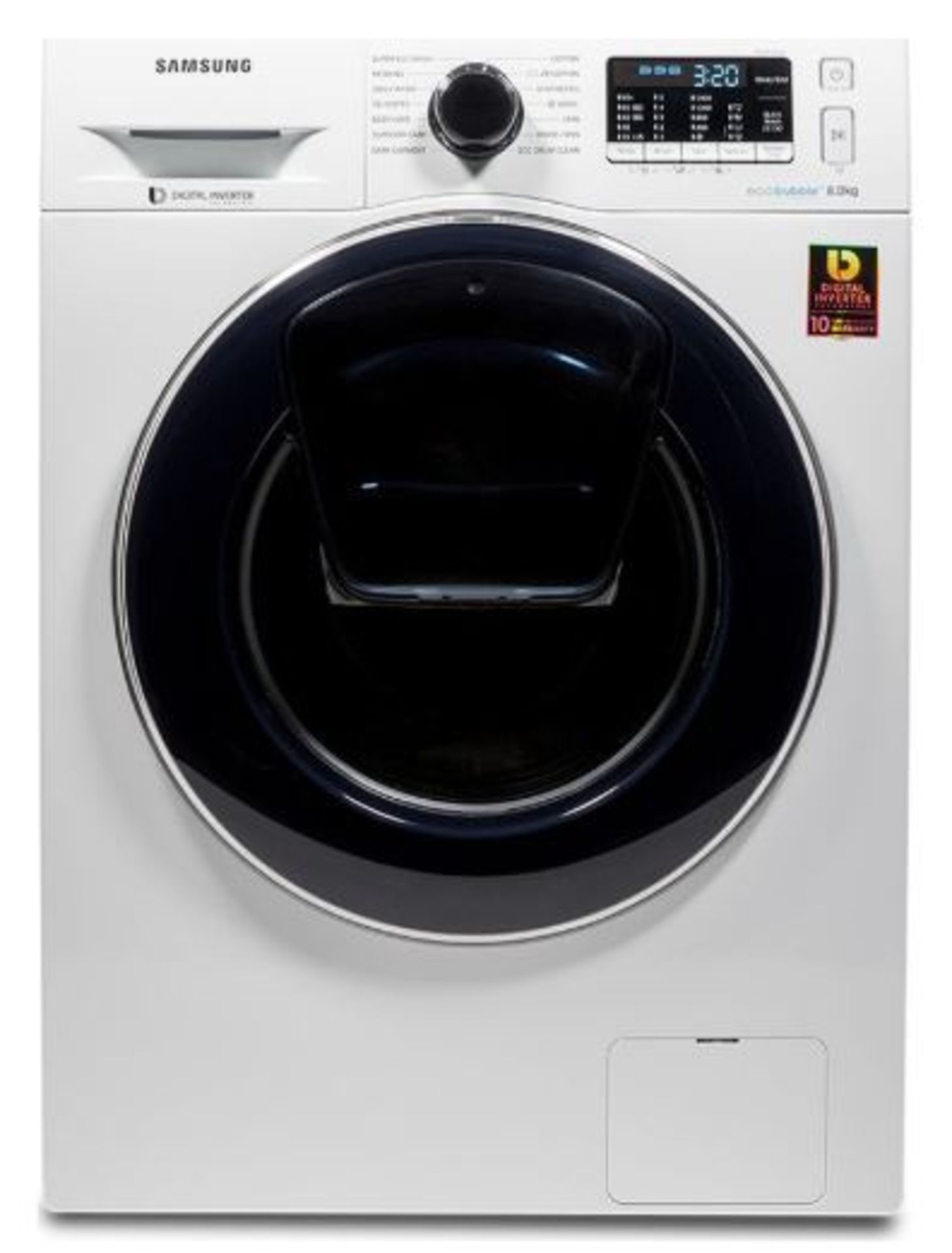 Pallet of 2 Samsung Premium Washing machines. Total Latest selling price £778*