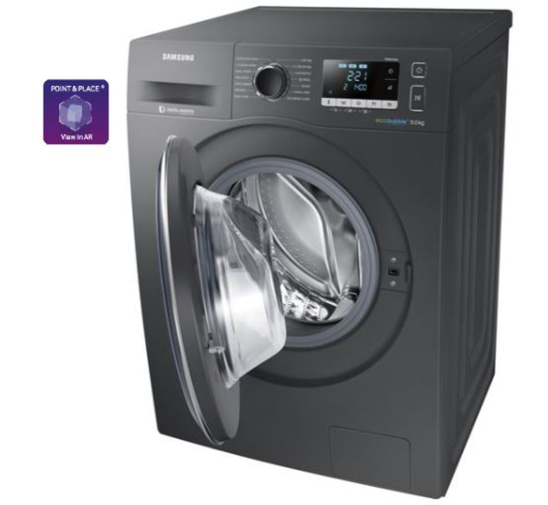 Pallet of 2 Samsung Premium Washing machines. Latest selling price £738 - Image 2 of 8