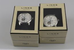 5 x LINKS OF LONDON OXFORD AUTOMATIC GENT'S WATCH Approx RRP £1,350