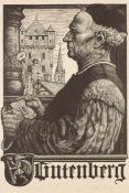 Buchwesen.– Gutenberg.– Karl Mahr
