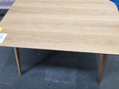 JOHN LEWIS ANTON 6 SEATER DINING TABLE