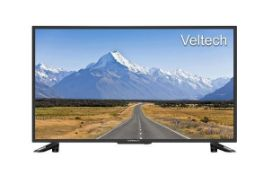 "1 BOXED AND UNTESTED VELTECH 32"" HD LED TV / DAMAGES TO THE SCREEN / RRP £129.00 (PUBLIC VIEWING"