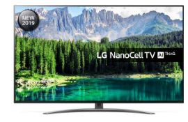 "1 BOXED TESTED AND WORKING LG 49"" SMART 4K NANOCELL LED TV WITH GOOGLE ASSIST / RRP £599.99 ("