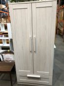 1 BESPOKE DESIGNER WARDROBE IN CREAM (PUBLIC VIEWING AVAILABLE)