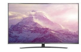 "1 UNBOXED LG 65"" UHD SMART TV AI THINQ / DAMAGES TO THE SCREEN / RRP £599.00 (PUBLIC VIEWING"