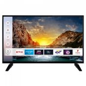 "1 BOXED AND UNTESTED DIGIHOME 40""4K SMART TV / DAMAGES TO THE SCREEN AND NO REMOTE / RRP £349.00 ("