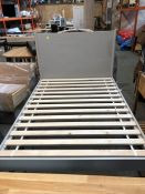 1 BESPOKE JOHN LEWIS BED FRAME / SIZE: DOUBLE (PUBLIC VIEWING AVAILABLE)