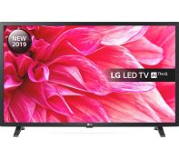 "1 UNTESTED LG 32"" HD SMART TV / DAMAGE TO THE SCREEN, NO STAND AND REMOTE / RRP £199.00 (PUBLIC"