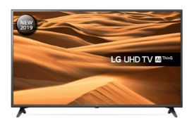 "1 BOXED AND UNTESTED LG 55"" UHD TV AI THINQ - 55UM71 / DAMAGES TO THE SCREEN / RRP £399.99 (PUBLIC"