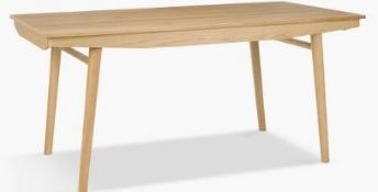 John Lewis Bow Extending Dining Table