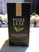 1 LOT TO CONTAIN 6 BOXES OF PURE LEAF BLACK TEA WITH VANILLA / BEST BEFORE: 01/2020 (PUBLIC