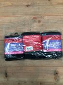 1 LOT TO CONTAIN 13 PACKS OF 3 SOCKS IN GREY / SIZE MEDIUM / RRP £686.00 (PUBLIC VIEWING AVAILABLE)