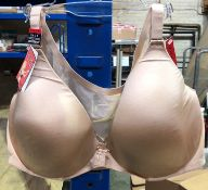 1 LOT TO CONTAIN 3 SPANX BRAS IN NATURAL / SIZE 4DD / STYLE 1489 / RRP £216.00 (PUBLIC VIEWING