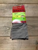 1 LOT TO CONTAIN 20 SPANX SOCKS IN CHINO FLAT / SIZE FULLER CALF / STYLE 010F / RRP £300.00 (