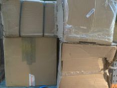 1 LOT TO CONTAIN 5 ASSORTED FILING CABINETS / PLEASE NOTE THAT SIZES, MODELS, COLOURS AND CONDITIONS