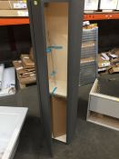 LINEN TALL STORAGE UNIT 1400X400X300 WITH SOFT CLOSE DOOR . RRP £795 (PUBLIC VIEWING AVAILABLE AND