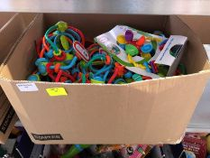 1 LOT TO CONTAIN AN ASSORTMENT OF LITTLE TIKES GRIP N' PLAY RATTLES PUBLIC VIEWING AVAILABLE &