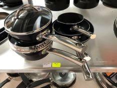 1 SCOVILLE PRO BLUE SAUCEPAN SET PUBLIC VIEWING AVAILABLE & HIGHLY RECOMMENDED - IMAGES ARE FOR