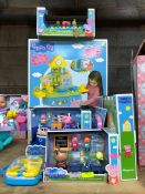 1 LOT TO CONTAIN AN ASSORTMENT OF PEPPA PIG TOYS PUBLIC VIEWING AVAILABLE & HIGHLY RECOMMENDED -