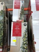 1 LOT TO CONTAIN 4 X 5FT CHRISTMAS TREES PUBLIC VIEWING AVAILABLE & HIGHLY RECOMMENDED - IMAGES