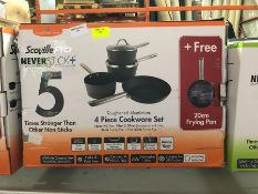1 BOXED SCOVILLE PRO 5PC COOKWEAR SET PUBLIC VIEWING AVAILABLE & HIGHLY RECOMMENDED - IMAGES ARE FOR