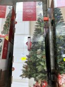 1 LOT TO CONTAIN 4 X 6FT PINE CONE AND BERRY CHRISTMAS TREES / RRP £35.00 EACH PUBLIC VIEWING