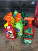 1 LOT TO CONTAIN AN ASSORTMENT OF RESOLVA GARDEN SPRAYS PUBLIC VIEWING AVAILABLE & HIGHLY