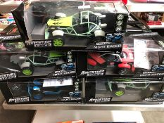 1 LOT TO CONTAIN 9 X ADVENTURE FORCE RC CARS PUBLIC VIEWING AVAILABLE & HIGHLY RECOMMENDED -