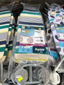 1 LOT TO CONTAIN 7 X MINKY IRONING BOARDS PUBLIC VIEWING AVAILABLE & HIGHLY RECOMMENDED - IMAGES ARE
