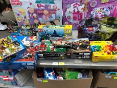 1 LOT TO CONTAIN AN ASSORTMENT OF LEGO PUBLIC VIEWING AVAILABLE & HIGHLY RECOMMENDED - IMAGES ARE