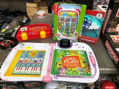 1 LOT TO CONTAIN MIXED KIDS TOYS TO INCLUDE LEAP FROG LEAP START 3D PUBLIC VIEWING AVAILABLE &