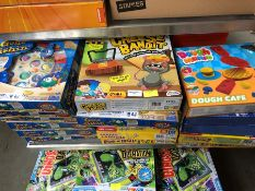 1 LOT TO CONTAIN 17 X MIXED GAMES TO INCLUDE GONE FISHING PUBLIC VIEWING AVAILABLE & HIGHLY